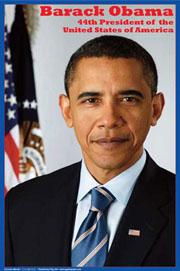 Barack Obama: America's 44th President - Poster
