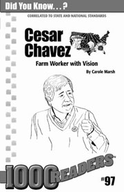 Cesar Chavez: Farm Worker with Vision Consumable Pack 30