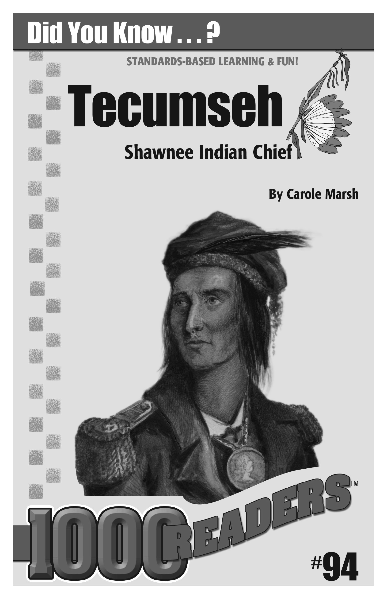 Tecumseh: Shawnee Indian Chief Consumable Pack 30