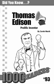 Thomas Edison: Prolific Inventor Consumable Pack 30