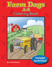 Farm Days A-Z Coloring Book