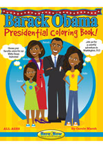 Barack Obama Presidential Coloring Book