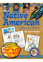 Native American Coloring Book
