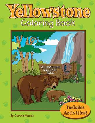The Yellowstone National Park Coloring and Activity Book