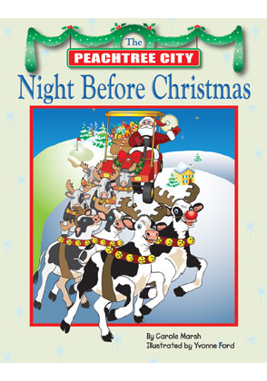 the peachtree city night before christmas book - Night Before Christmas Book