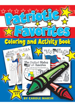 Patriotic Favorites-Coloring and Activity Book