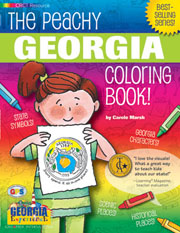 The Peachy Georgia Coloring Book!