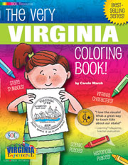 The Very Virginia Coloring Book!