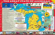 The Michigan Experience Poster/Map!