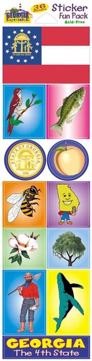 The Georgia Experience Stickers