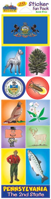The Pennsylvania Experience Sticker Pack!