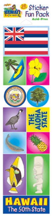 The Hawaii Experience Sticker Pack