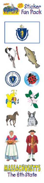The Massachusetts Experience Sticker Pack