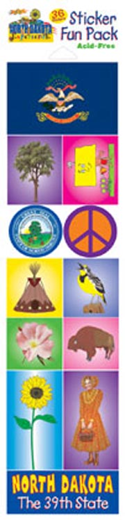 The North Dakota Experience Sticker Pack