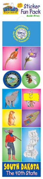 The South Dakota Experience Sticker Pack