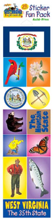 The West Virginia Experience Sticker Pack