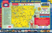 The Arkansas Experience Poster/Map