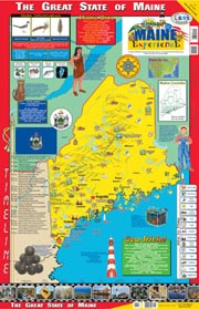 The Maine Experience Poster/Map!
