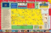 The North Dakota Experience Poster/Map!