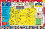 The Oregon Experience Poster/Map!
