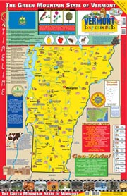 The Vermont Experience Poster/Map!