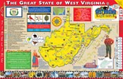 The West Virginia Experience Poster/Map!