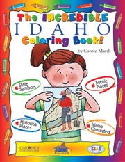 The Incredible Idaho Coloring Book!