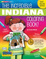 The Incredible Indiana Coloring Book
