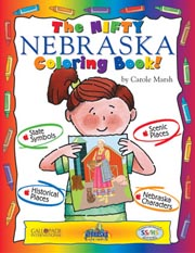 The Nifty Nebraska Coloring Book!