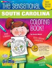 The Sensational South Carolina Coloring Book!
