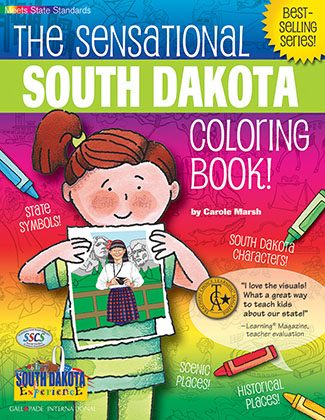 The Sensational South Dakota Coloring Book!