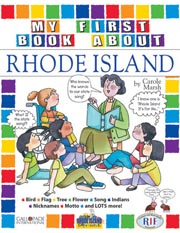 My First Book About Rhode Island!