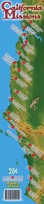 California Missions Bookmark