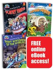 Fantasy Fieldtrip Mysteries Set of 3 Library Bound Books