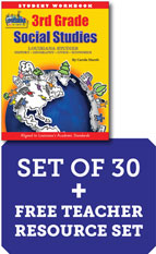 Louisiana Experience 3rd Grade Class Set of 30