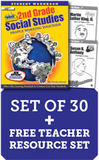 (2019) Ohio 2nd Grade Class Set with Print Biography Readers Add-on - Class Set of 30