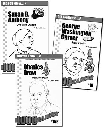 Ohio 2nd Grade Biography Reader Set