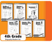 Ohio 4th Grade Biography Reader Set