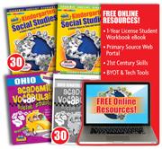 Ohio Experience Kindergarten Teach, Test, Track Set - 1 year