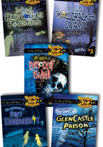 Pretty Darn Scary Mysteries Set of 5 Library Bound Books