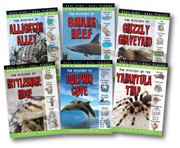 Wildlife Mystery Set of 6 School-Wide eBooks (5-year Online License)
