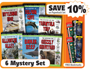 Wildlife Mystery Set of 6 Paperbacks
